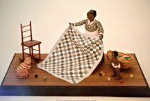 PJ Hornberger folk art