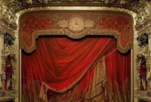 historic stage scenery