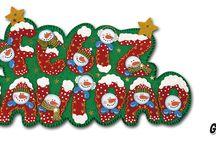 Goma Eva Navidad Patrones