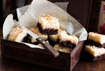 Food - Sliced / Slices, brownies, blondes, pie bars / by Amy McPherson
