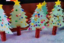 kindergarten christmas crafts