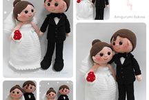 bodas amigurumi