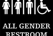 All Gender Restroom Signs