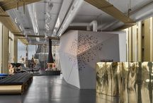 Fireplaces & Workspaces / inspiration & ideas for the place of work