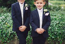 Boys wedding outfit