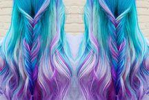 Farebné vlasy