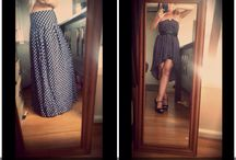 My refashions / I love to refashion.. I wish I could do it every day!!