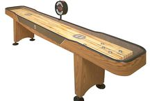Table Games - Shuffleboard! A Game for the Whole Family! / A fun pastime with the family can include many competitive games of #Shuffleboard. At Danny Vegh's, we love to get our shuffle on!