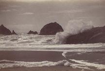 George Fiske / Carleton Watkins / Eadward Muybridge / George Fiske (1835 – 1918) was an American landscape photographer. Carleton Watkins (1829-1916) was an American photographer of the 19th century. Eadweard Muybridge (1830 – 1904) was an English photographer.