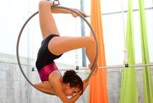 Aerial hoop