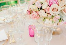 Table Service / Jouer Cosmetics Founder + Creative Director, Christina Zilber's, Dinner Party Board / by Jouer Cosmetics