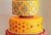 Bollywood cakes