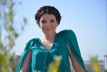 Sesión Sevilla Weekend / Sesión inspirada en este vestido de seda natural ideal para bodas.
