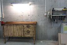 мастерская в подвальчике