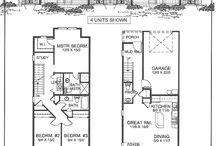 Quadplex vacation home plan ideas / by Kealani Schmitt