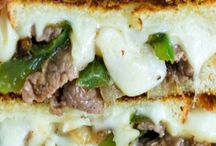Sandwiches / lunch, recipes, sandwiches, hoagies, subs, grilled cheese, toast, rye, sourdough,
