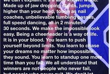 Cheer  / by Jenneifer Dell