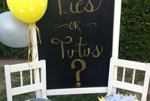 For a gender reveal / by Alexandria Lima