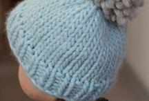 Knitting beanies