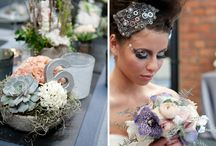wedding decoration gray