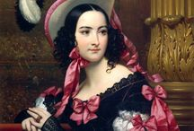 19th century: Portraits of women / 19th century portraits of women.