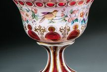 Wilhelm Hoffmann (1808-1864/1866) - Biedermeier Bohemia glass / Decorative arts: Glass