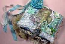 Marie Antoinette - fiber art