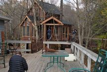 Treehouse Masters / We furnished a dream treehouse in Wayne County, PA and our unique rustic style was featured in the season premiere of Treehouse Masters on Friday, January 10th on Animal Planet!