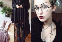 Goth, punk, dark