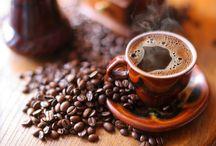 Hot coffee & chocolate