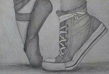 Kresba Tužkou / Kresba tužkou je snad nejznámější druh kreseb a proto jsem se rozhodla vám ukázat podle mě nejhezčí kresby tužkou. Nechte se inspirovat.