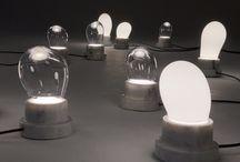 The Mini Bubble / The Mini Bubble | table light | Glass-marble-Led