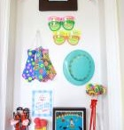 Birthday Celebration / Command™ Products make decorating and clean-up for any birthday super easy!