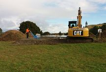 Follow That Build (Pohangina, Palmerston North) / A brand new home being built just outside of Palmerston North, New Zealand. This 3 bedroom, 1 bathroom, double garage with beautiful Veux opening living areas. http://www.bclhomes.co.nz/