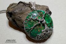 my wirework / handmade jewelery wirewrapping