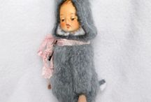 Тедди-долл / авторские куклы