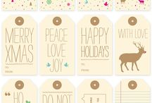 Printable Christmas Gift Tags / by Letters from Santa