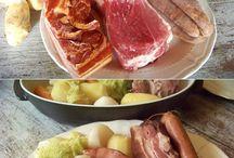 cabbage and pork (lorraine )