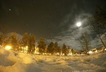 Winter night at Geilo