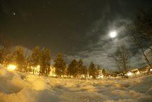 Winter night at Geilo