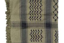 """Keffiyeh o Shemaghs Islámicos / Ahora con diferentes colores algodón de estilo palestino Arafat bufandas / kefiyyeh shemagh (usada por los musulmanes en varios países árabes, especialmente de Palestina). Medidas: 47"""" x 47""""(120cm x 120cm)"""