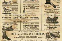 Vintage Goodies / Vintage commercial art