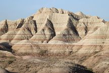 Magnificent Terrains of the Badlands, South Dakota