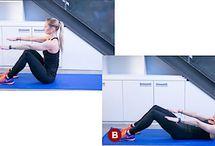 jak posilovat břišní svaly