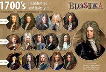 HISTORICAL FASHION, HAIRSTYLES ....