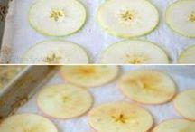 jedzenie z jabłek