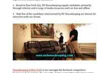 Why Choose Newyork Housekeeping Servise