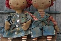 RaggedyMom | Dolls / by Melanie Remy