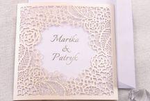 Zaproszenia ślubne papierowe