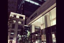 ニューヨークを思い出しました。 It's a N.Y. city like location. Am I saying right? #marunouchi #nightview #city #urbanlocation #丸の内 #ニューヨークっぽい #行った事ないけど写真